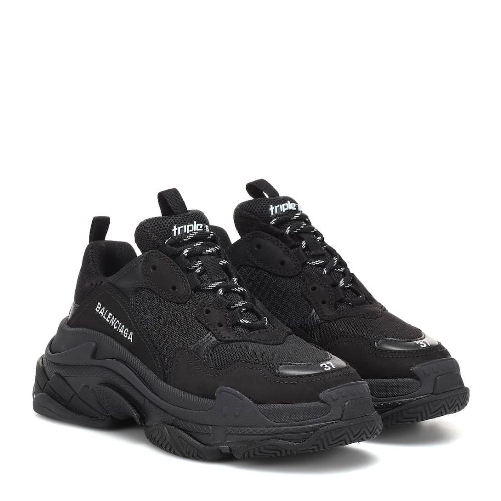 バレンシアガ Balenciaga レディース シューズ・靴 スニーカー【Triple S sneakers】Black