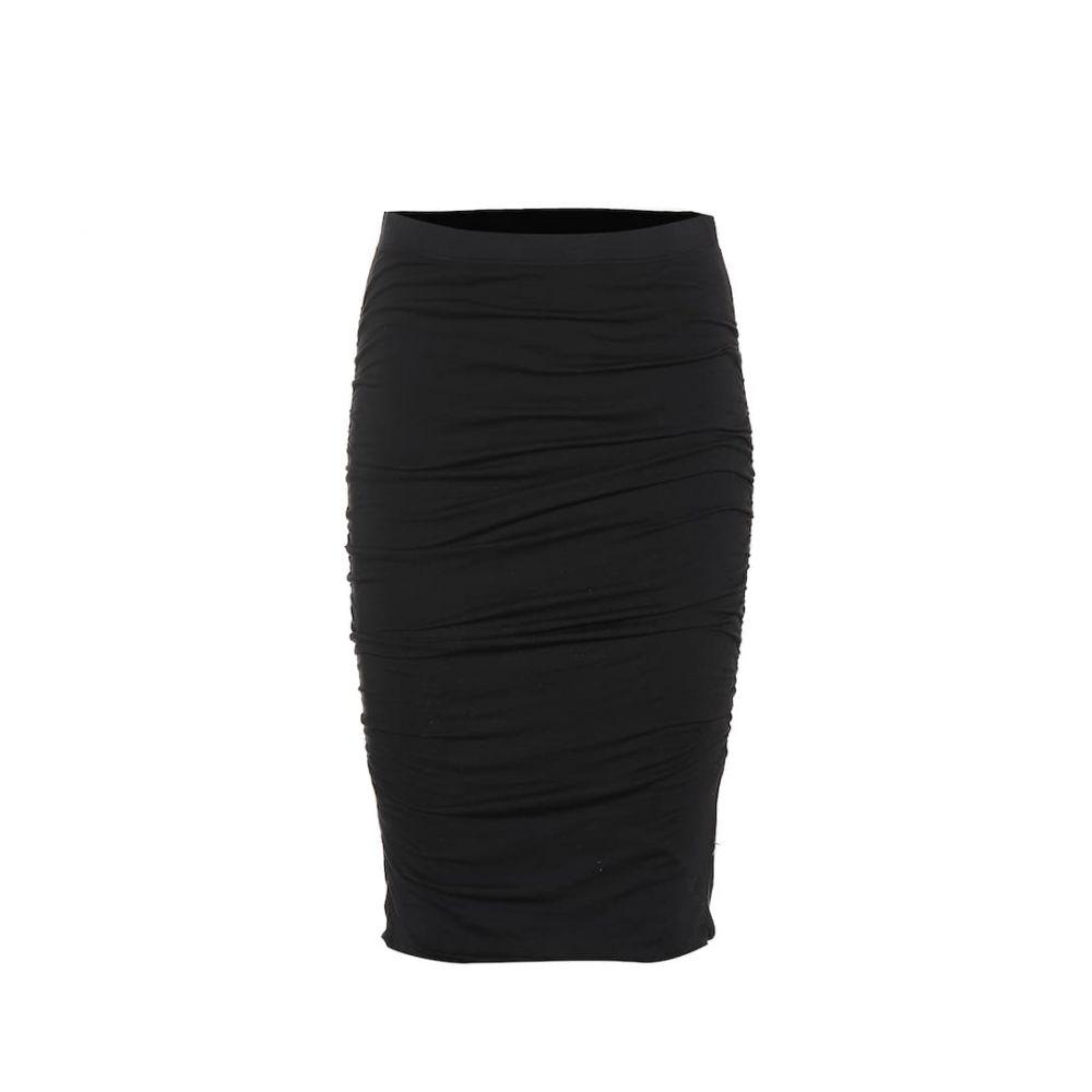 ベルベット グラハム&スペンサー Velvet レディース スカート ミニスカート【Malene stretch-cotton skirt】black
