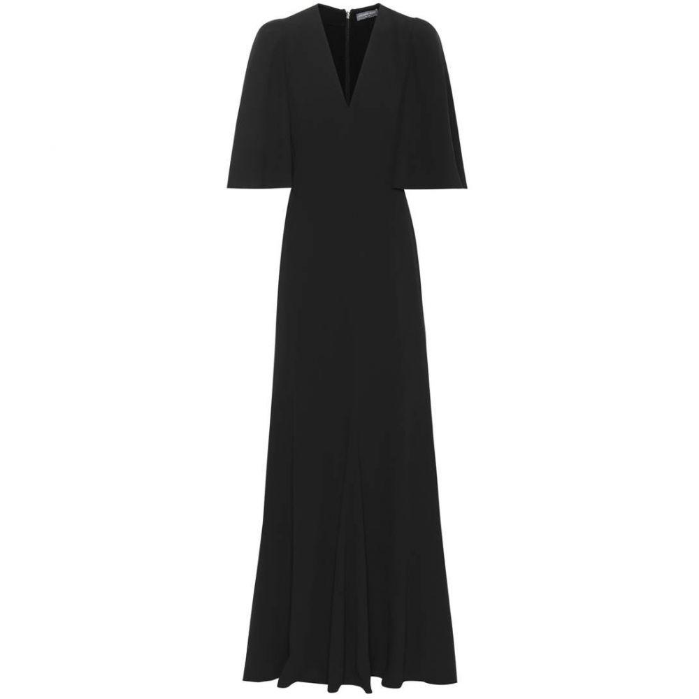 アレキサンダー マックイーン Alexander McQueen レディース ワンピース・ドレス パーティードレス【Crepe gown】Black