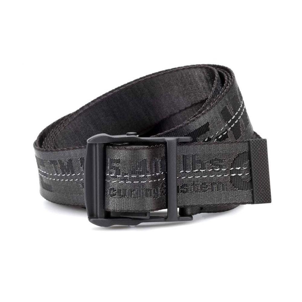 オフ-ホワイト Off-White レディース ベルト【Industrial belt】Black