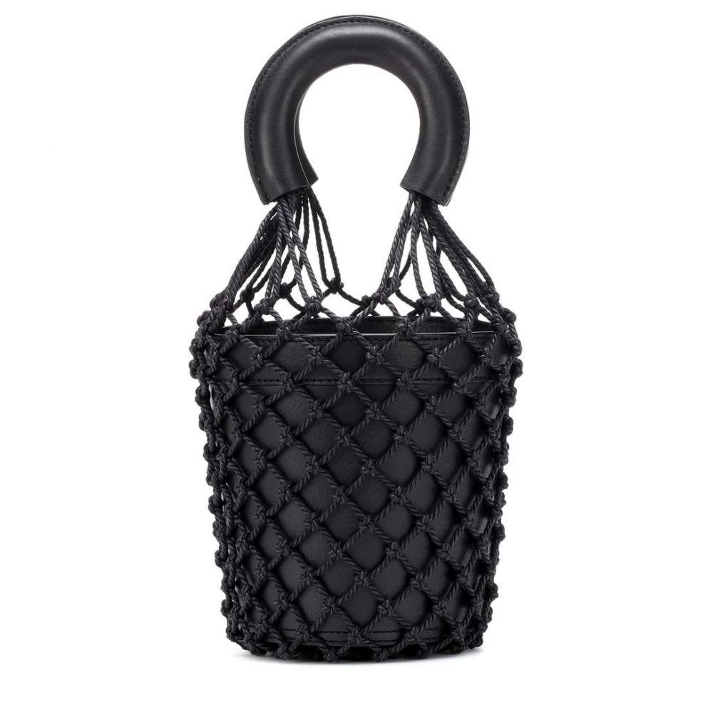 スタッド Staud レディース バッグ【Moreau leather bucket bag】Black