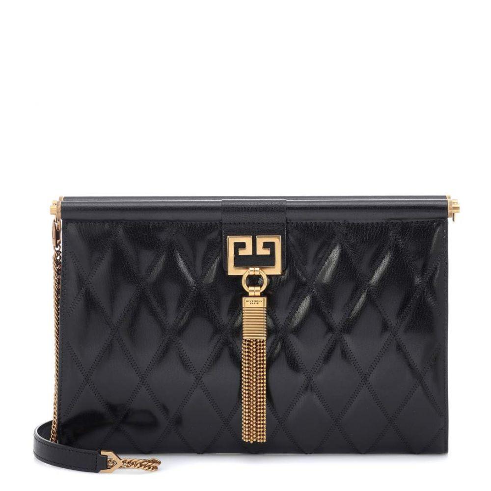 ジバンシー Givenchy レディース バッグ レディース clutch】Black クラッチバッグ【Gem Medium quilted ジバンシー leather clutch】Black, ジェムパレス:fbd933ce --- sunward.msk.ru