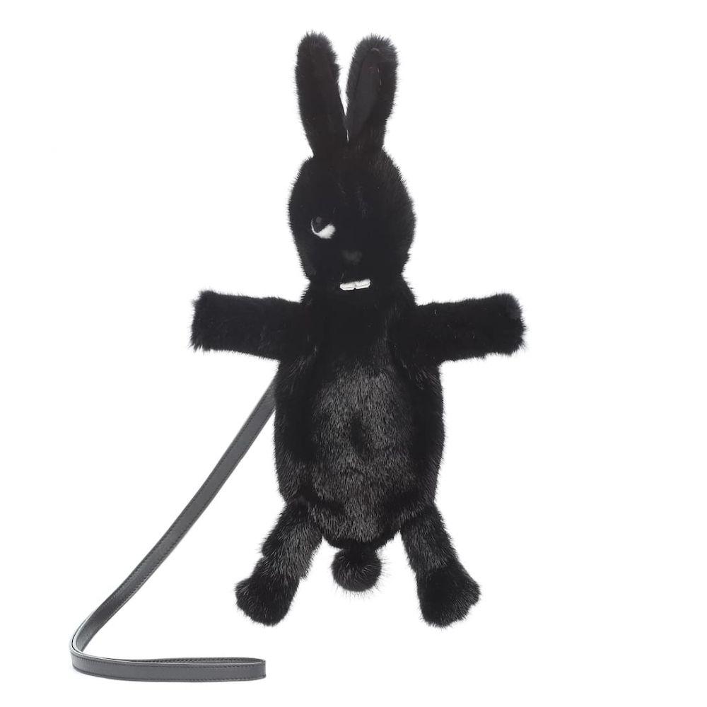 リック オウエンス バッグ Rick Owens レディース バッグ クラッチバッグ fur【HUNRICKOWENS clutch】black Fat Bunny fur clutch】black, 風連町:f8d0ec96 --- sunward.msk.ru