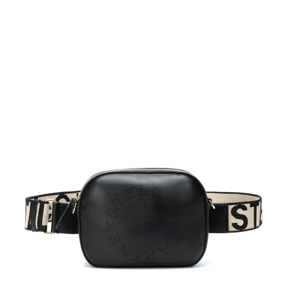 ステラ マッカートニー Stella McCartney レディース バッグ ボディバッグ・ウエストポーチ【Faux leather belt bag】Black