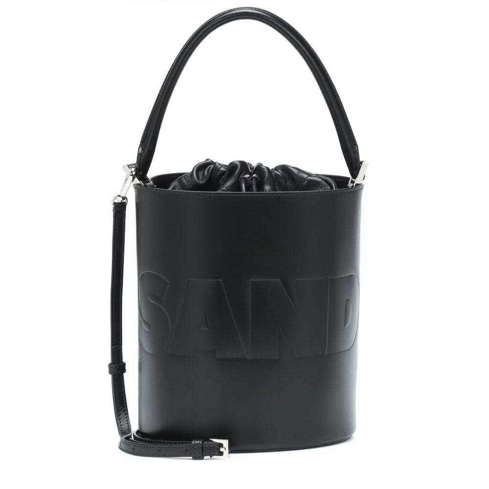 ジル サンダー Jil Sander レディース バッグ【Drawstring Basket Medium bucket bag】Black