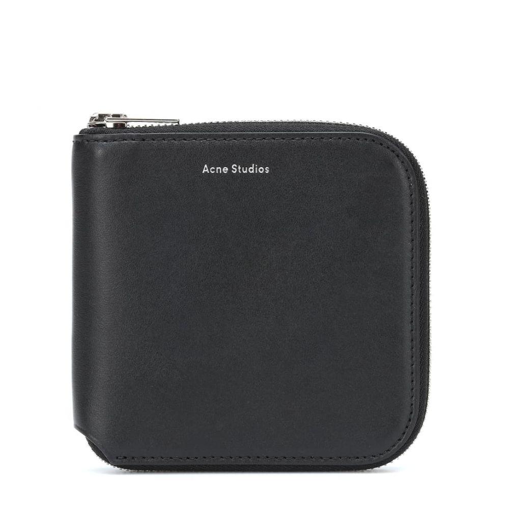アクネ ストゥディオズ Acne Studios レディース 財布【Csarite S leather wallet】Black