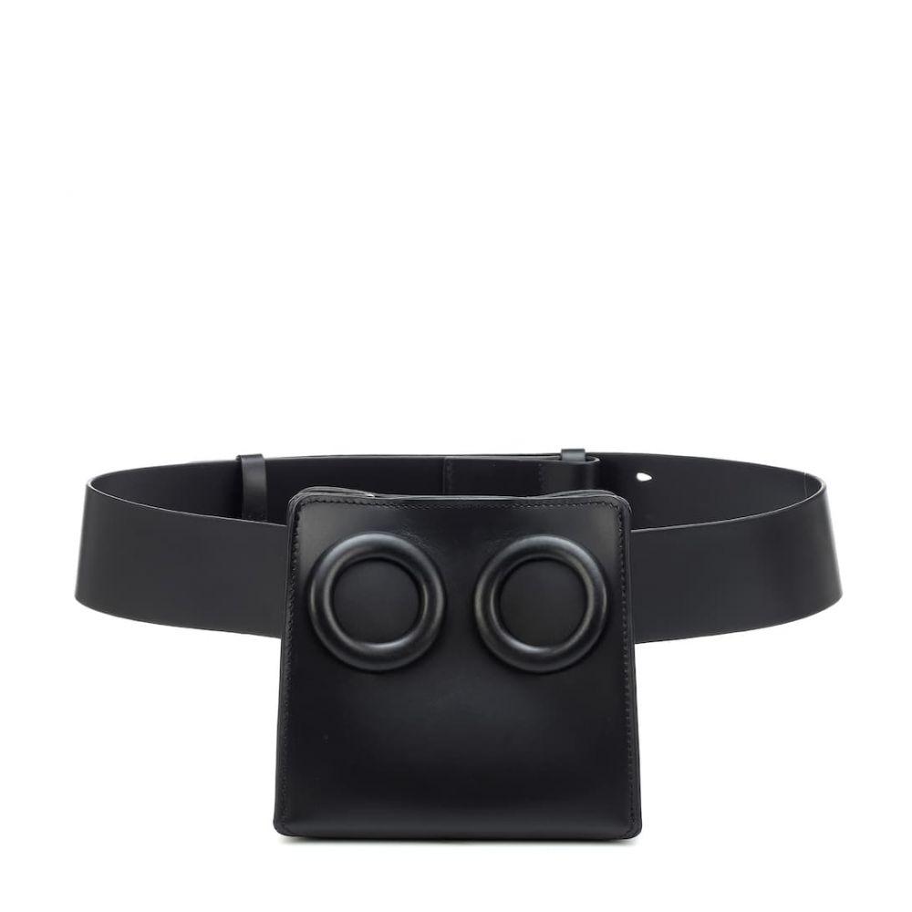 ボーイ Boyy レディース バッグ ボディバッグ・ウエストポーチ【Deon leather belt bag】Black