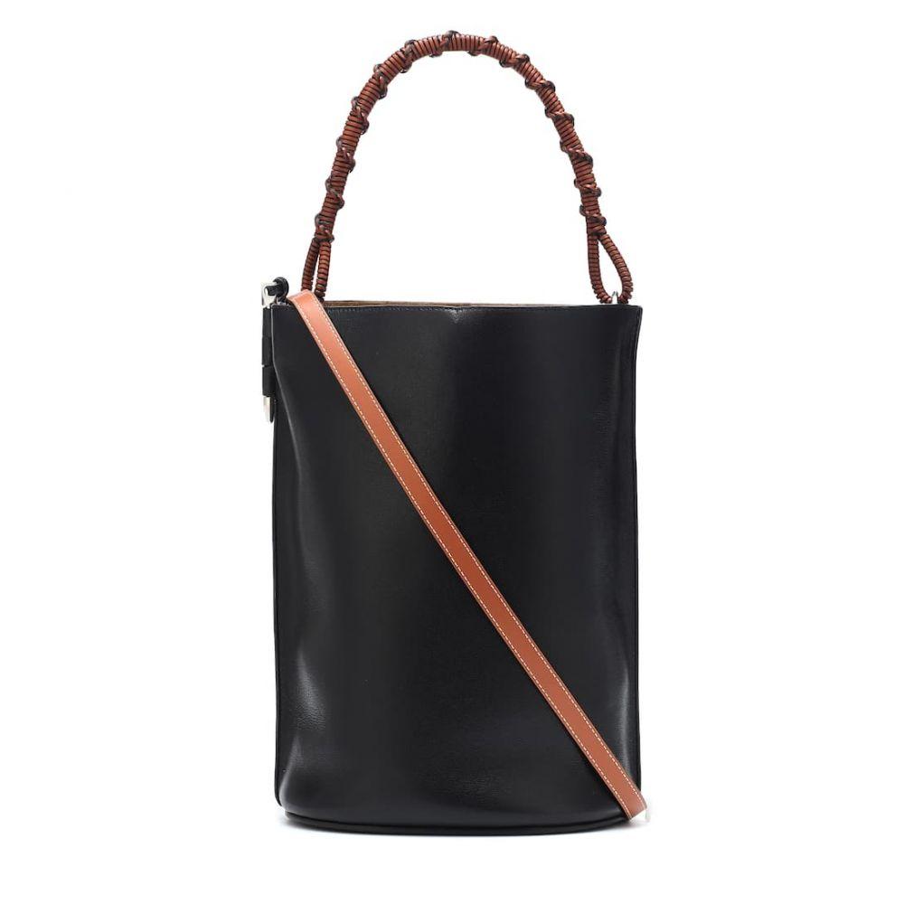 ロエベ Loewe レディース バッグ【Gate leather bucket bag】Black