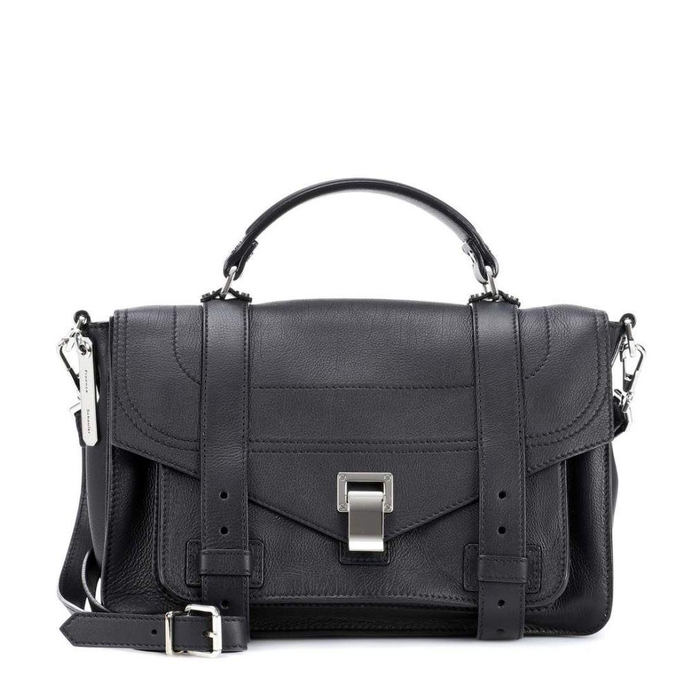 プロエンザ スクーラー Proenza Schouler レディース バッグ トートバッグ【PS1+ Medium leather tote】Black