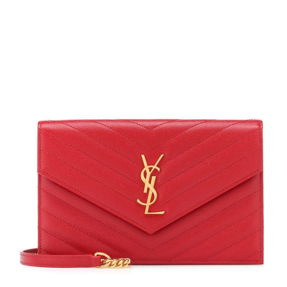 イヴ サンローラン Saint Laurent レディース バッグ ショルダーバッグ【Monogram Envelope shoulder bag】Bandana Red
