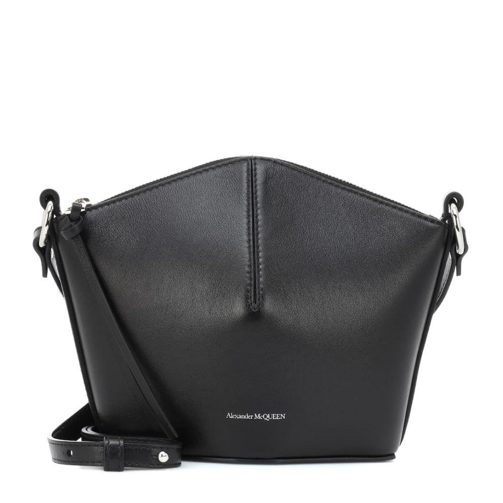 アレキサンダー マックイーン Alexander McQueen レディース バッグ ショルダーバッグ【Leather shoulder bag】Black