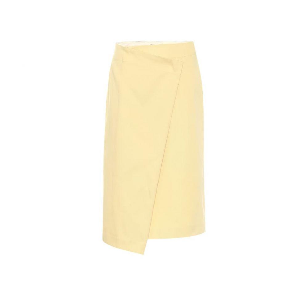 ジョゼフ Joseph レディース スカート ひざ丈スカート【Denny Uniform cotton skirt】banana