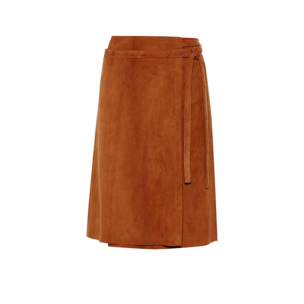 ストールス Stouls レディース スカート【Athea suede wrap skirt】Badiane