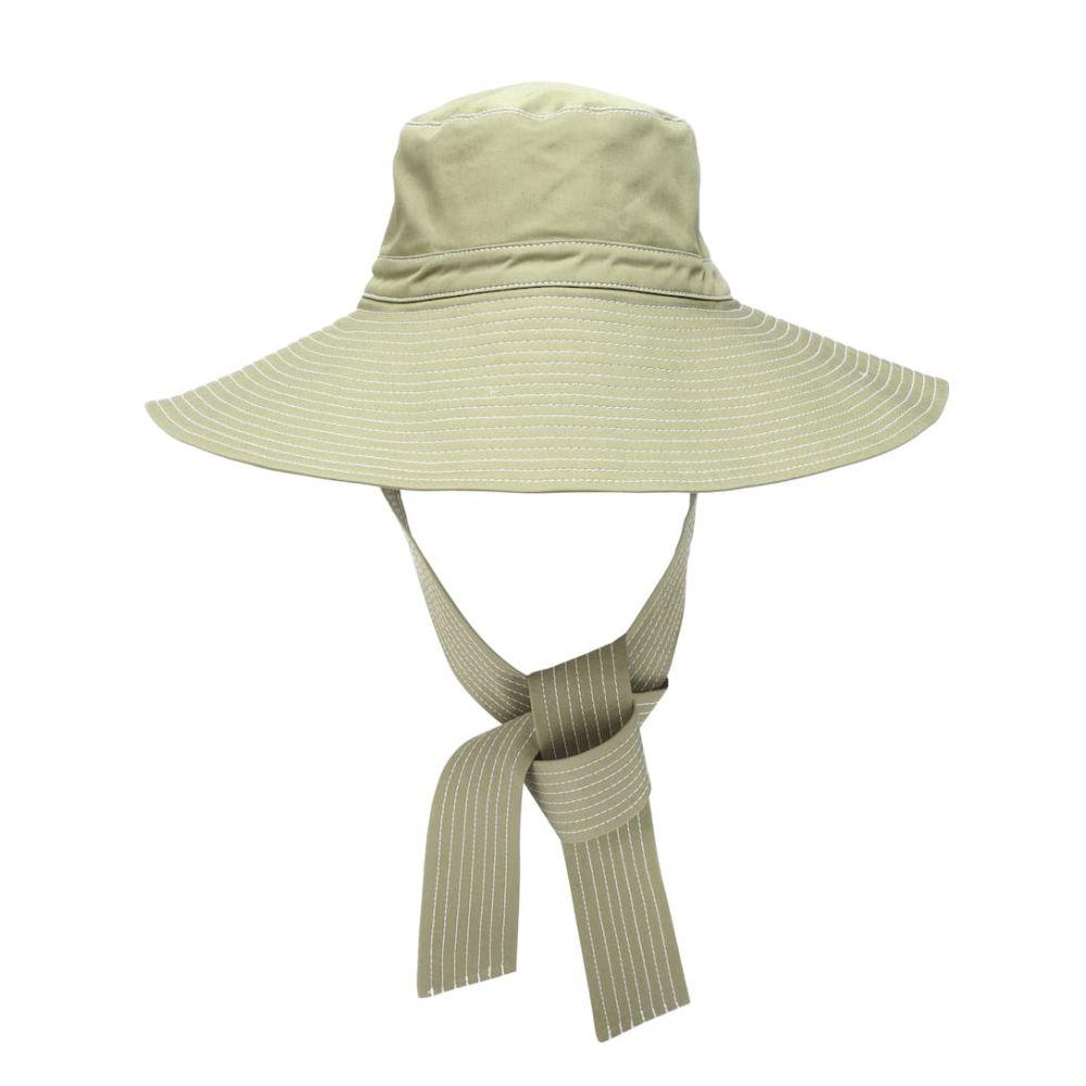 ガニー Ganni レディース 帽子 ハット【Wide-brim hat】Aloe