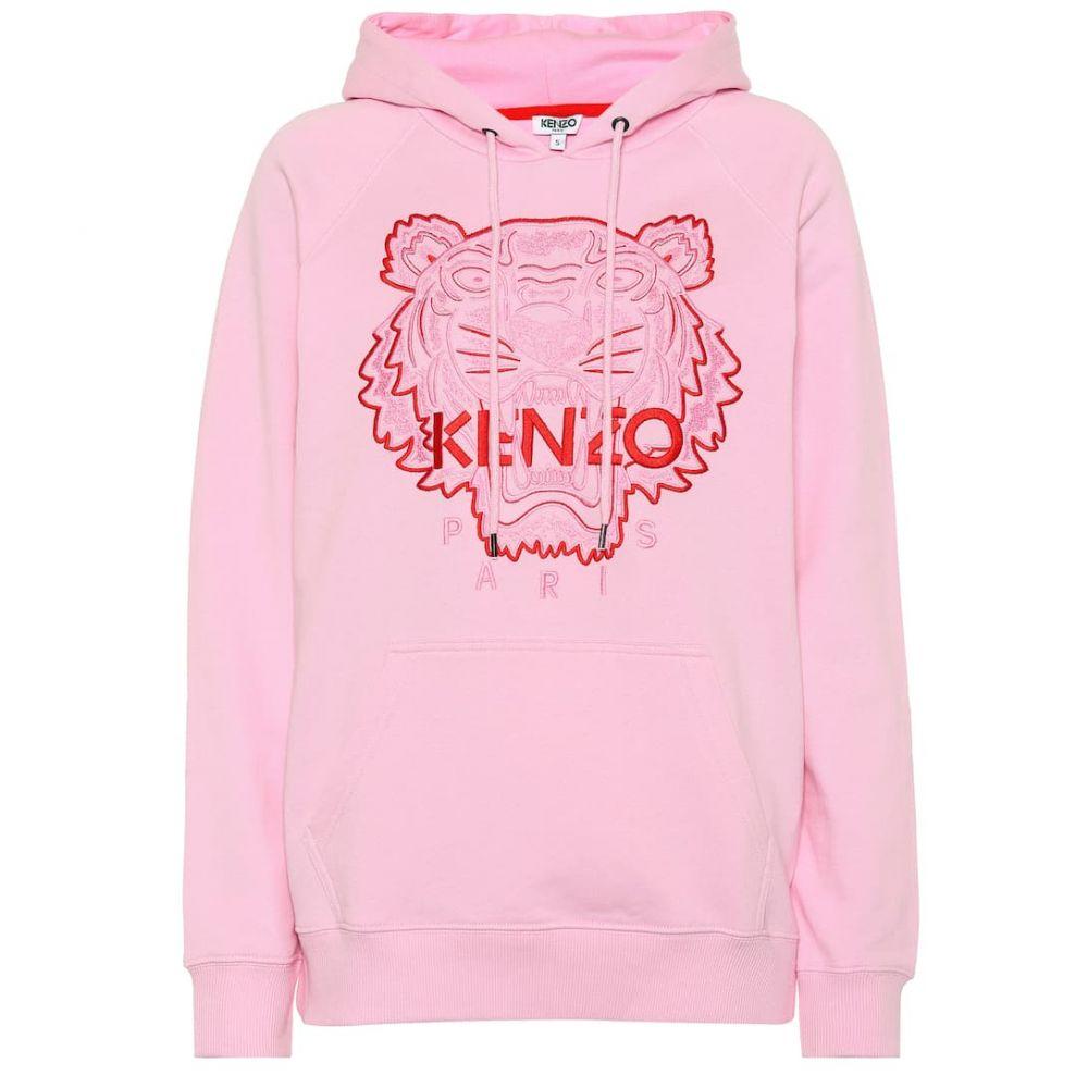 ケンゾー Kenzo レディース トップス パーカー【Tiger Logo stretch-cotton hoodie】