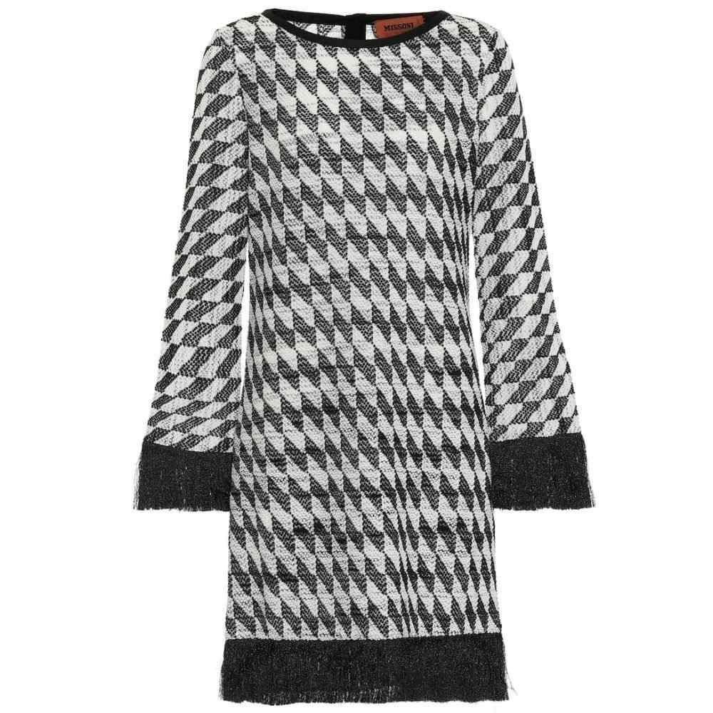 ミッソーニ Missoni レディース ワンピース・ドレス ワンピース【Cotton-blend jacquard dress】