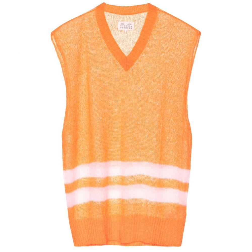 メゾン マルジェラ Maison Margiela レディース トップス ベスト・ジレ【Mohair-blend sweater vest】