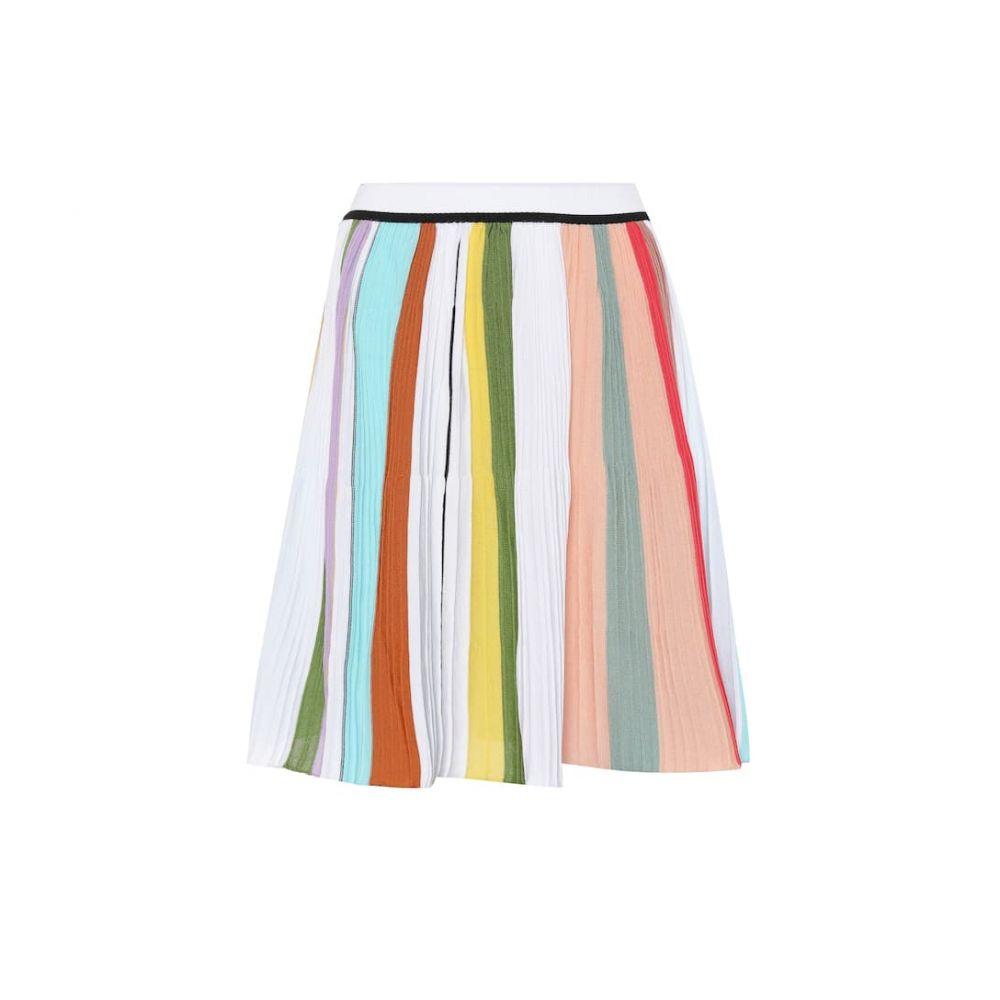 ミッソーニ Missoni レディース スカート ミニスカート【Striped crochet cotton miniskirt】