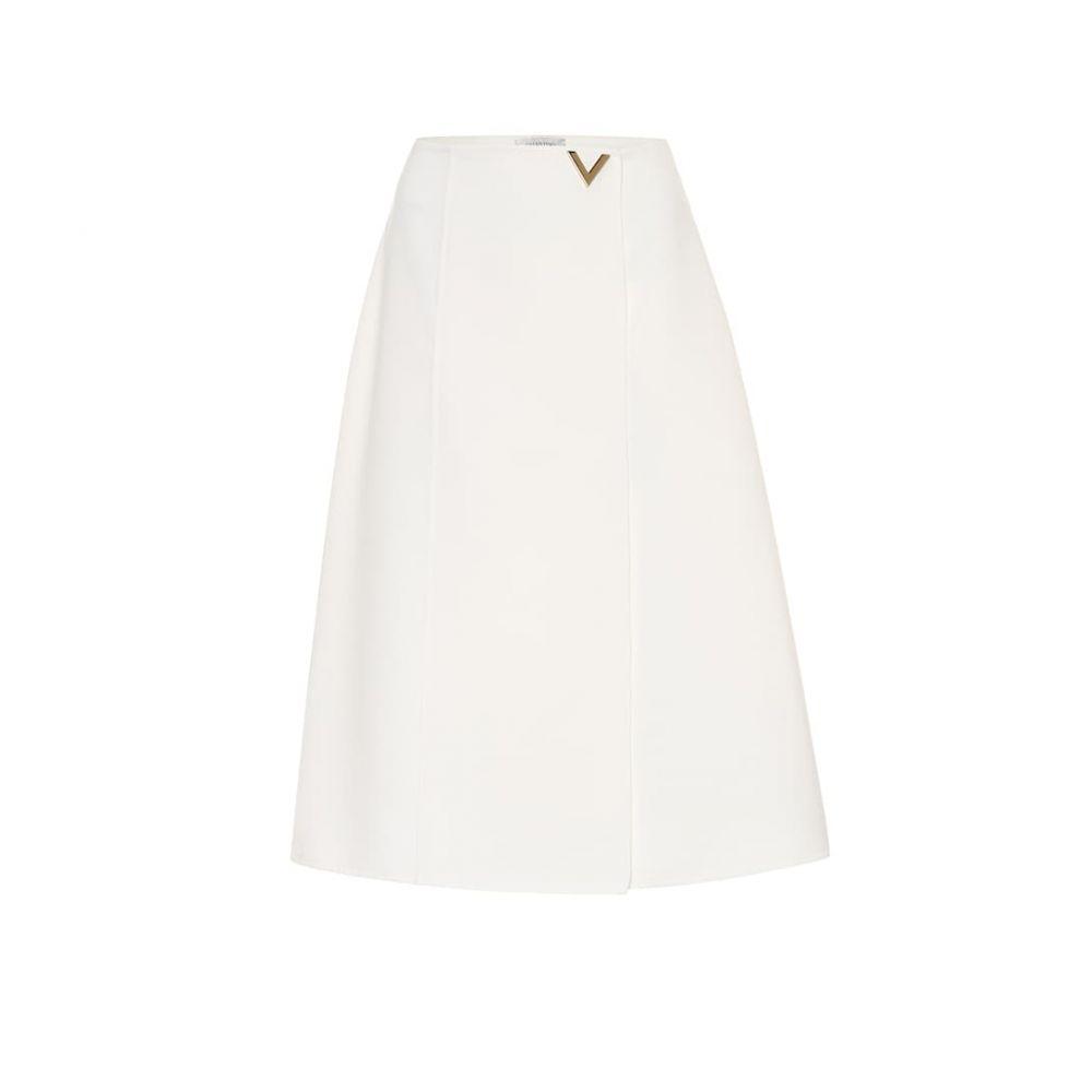 ヴァレンティノ Valentino レディース スカート ひざ丈スカート【Wool midi skirt】
