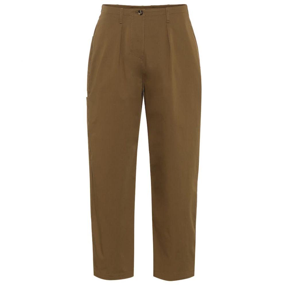 ヴァレンティノ Valentino レディース ボトムス・パンツ【Stretch cotton twill pants】