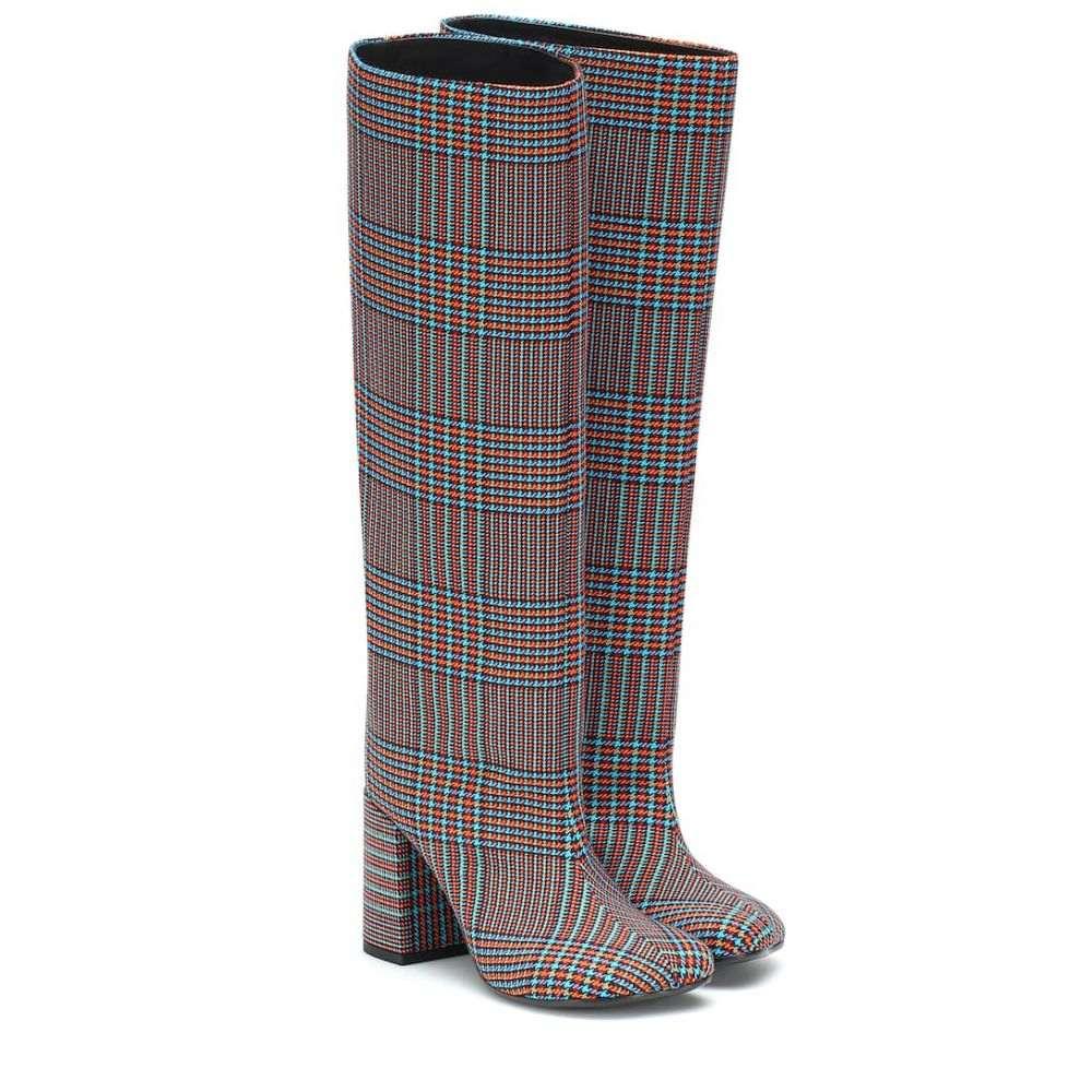 メゾン ブーツ【Plaid MM6 マルジェラ シューズ・靴 MM6 Maison Margiela レディース シューズ・靴 ブーツ【Plaid knee-high boots】, LOST AND FOUND:03142b38 --- sunward.msk.ru