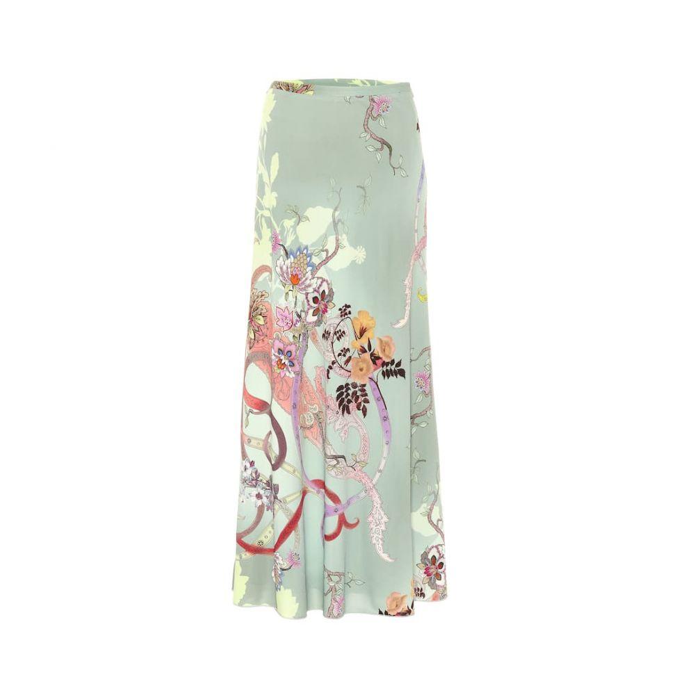 エトロ Etro レディース スカート ロング・マキシ丈スカート【Print silk-blend maxi skirt】