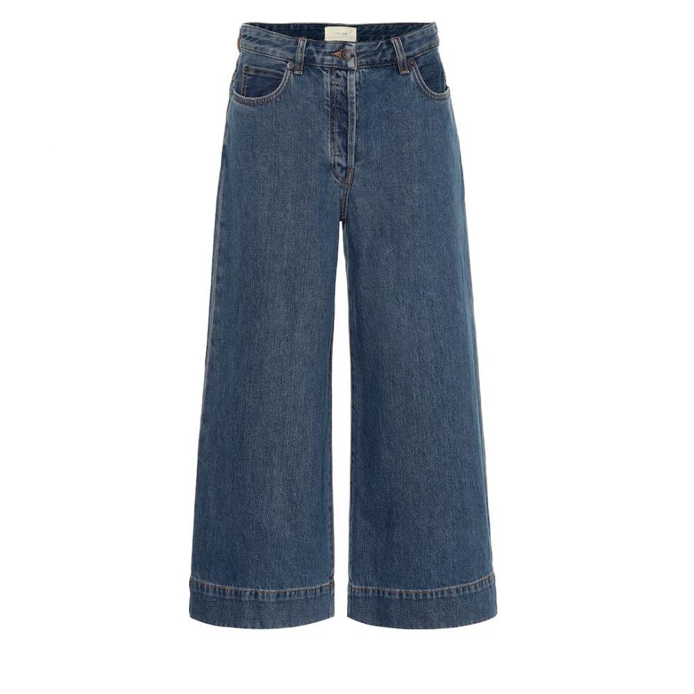 ザ ロウ The Row レディース ボトムス・パンツ ジーンズ・デニム【Edna wide-leg jeans】