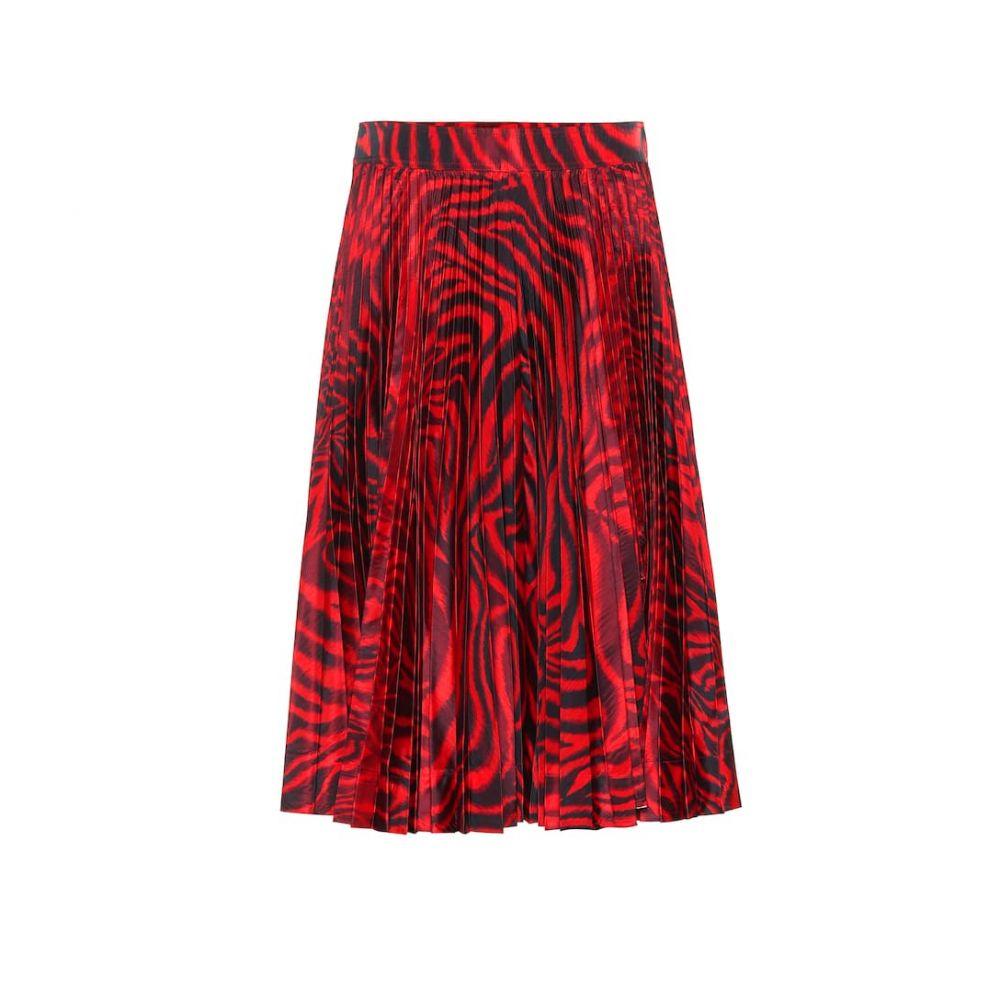 カルバンクライン Calvin Klein 205W39NYC レディース スカート ひざ丈スカート【Printed silk-blend skirt】