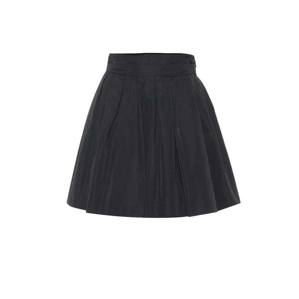 ヴァレンティノ Valentino レディース スカート ミニスカート【Cotton-blend faille miniskirt】