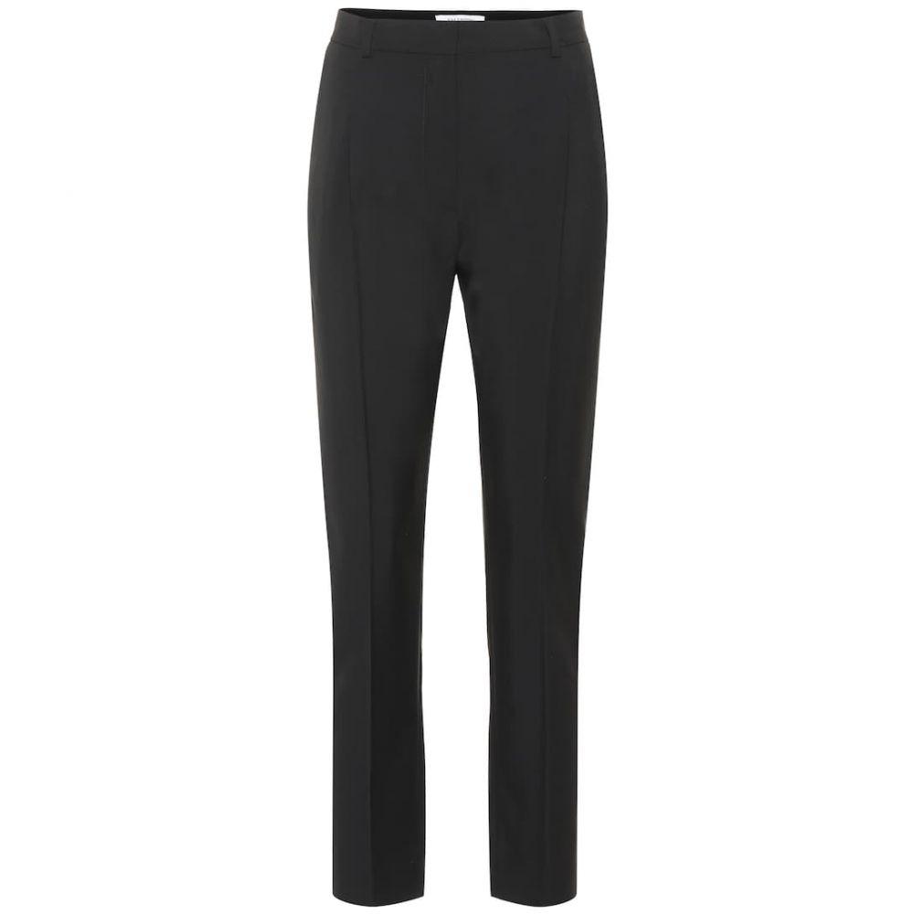 ヴァレンティノ Valentino レディース ボトムス・パンツ【Wool and mohair high-rise pants】