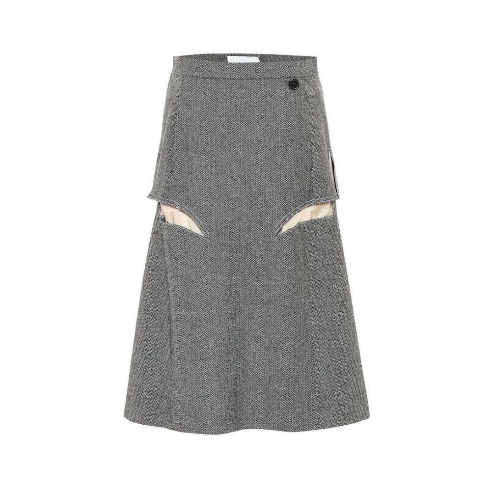 メゾン マルジェラ Maison Margiela レディース スカート ひざ丈スカート【Wool midi skirt】