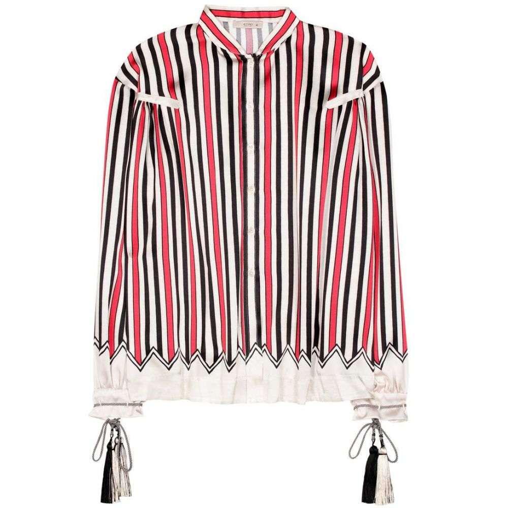 エトロ Etro レディース トップス ブラウス・シャツ【Striped silk shirt】