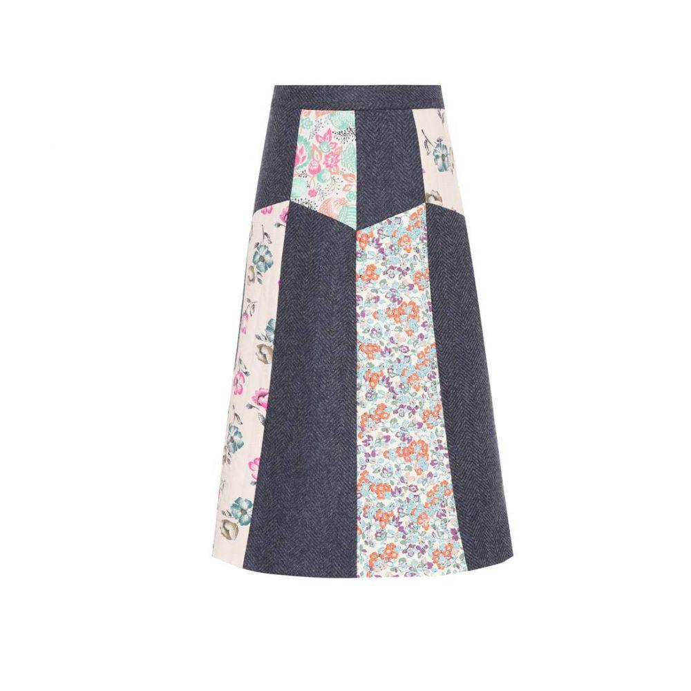 レッド ヴァレンティノ REDValentino レディース スカート【Floral-printed wool skirt】
