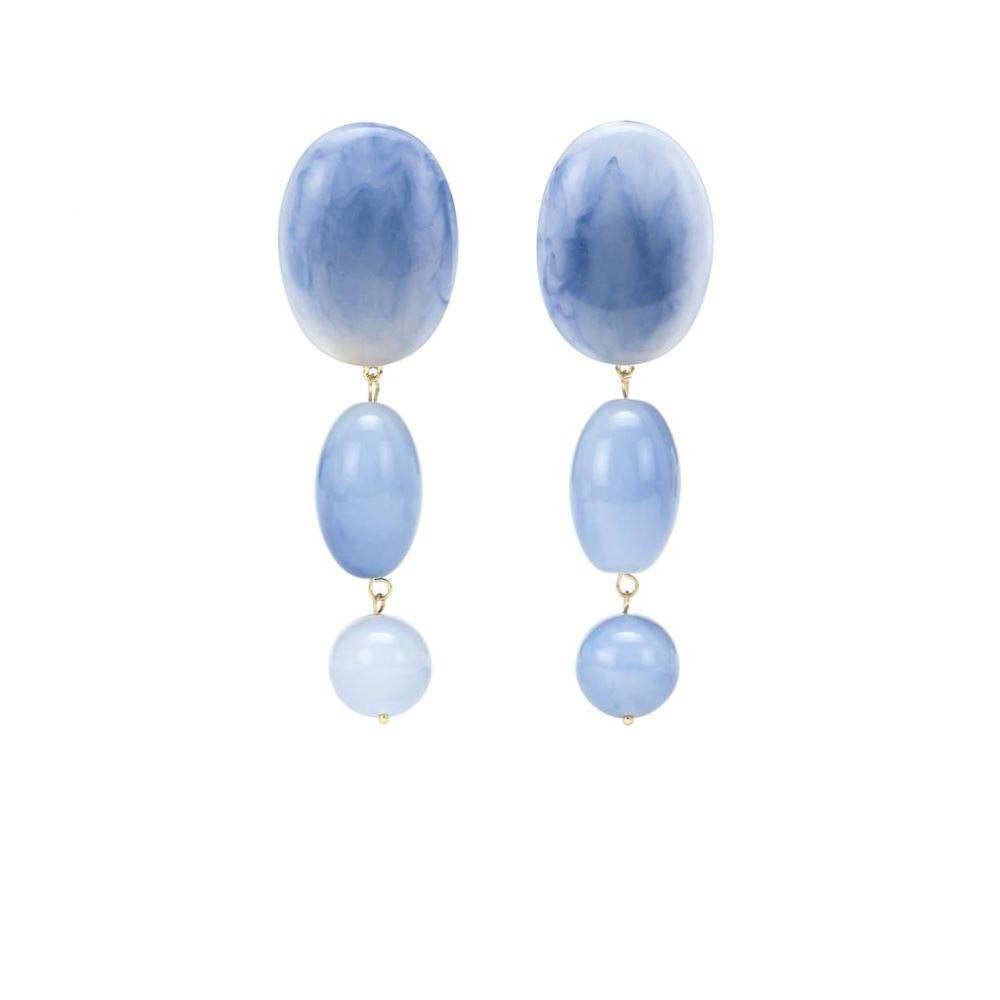 レレ サドイ Lele Sadoughi レディース ジュエリー・アクセサリー イヤリング・ピアス【Bubble Drop 14kt gold-plated earrings】