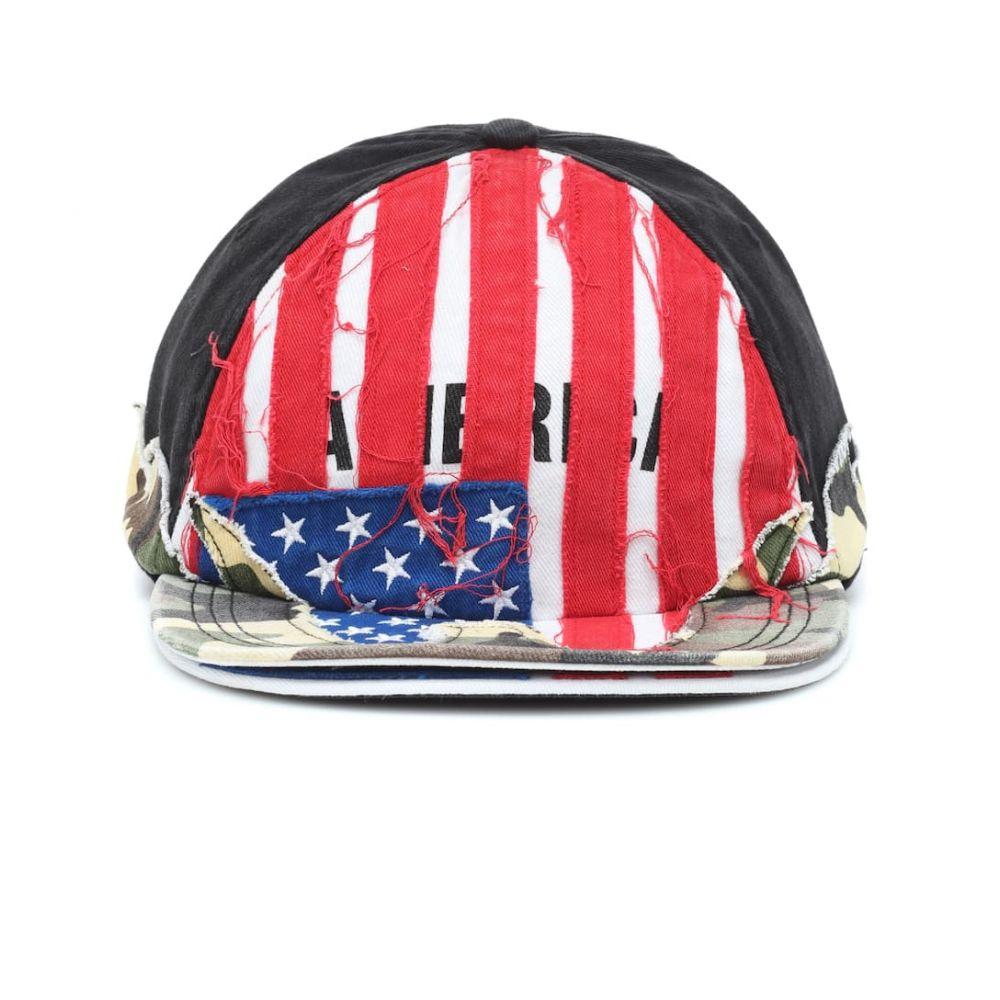 ヴェトモン Vetements レディース 帽子 キャップ【x Reebok embroidered baseball cap】USA