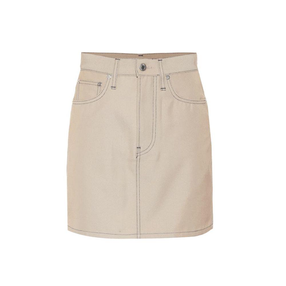 ヘルムート ラング Helmut Lang レディース スカート ミニスカート【Cotton-blend denim miniskirt】Tufa