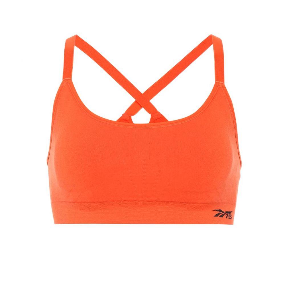 リーボック Reebok x Victoria Beckham レディース インナー・下着 スポーツブラ【Seamless sports bra】Swag Orange S