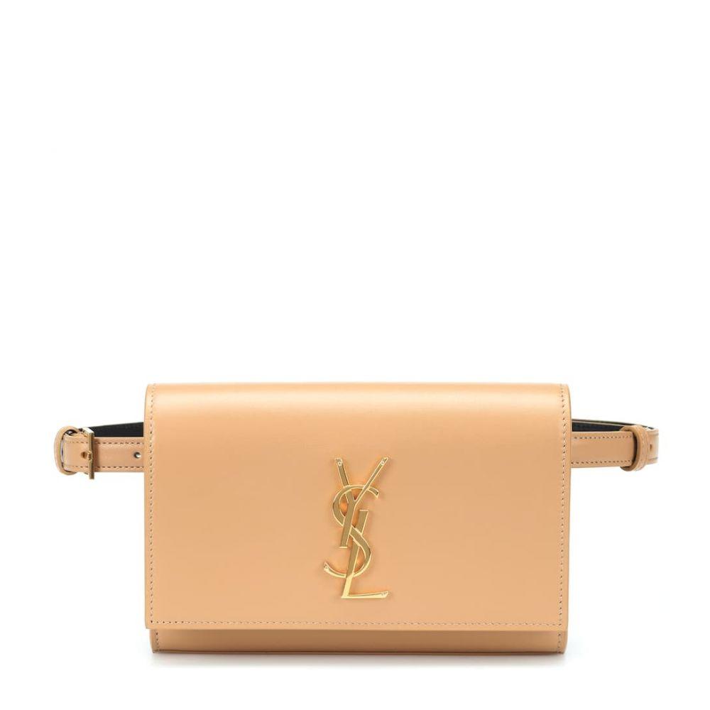 イヴ サンローラン Saint Laurent レディース バッグ ボディバッグ・ウエストポーチ【Kate leather belt bag】Toffee