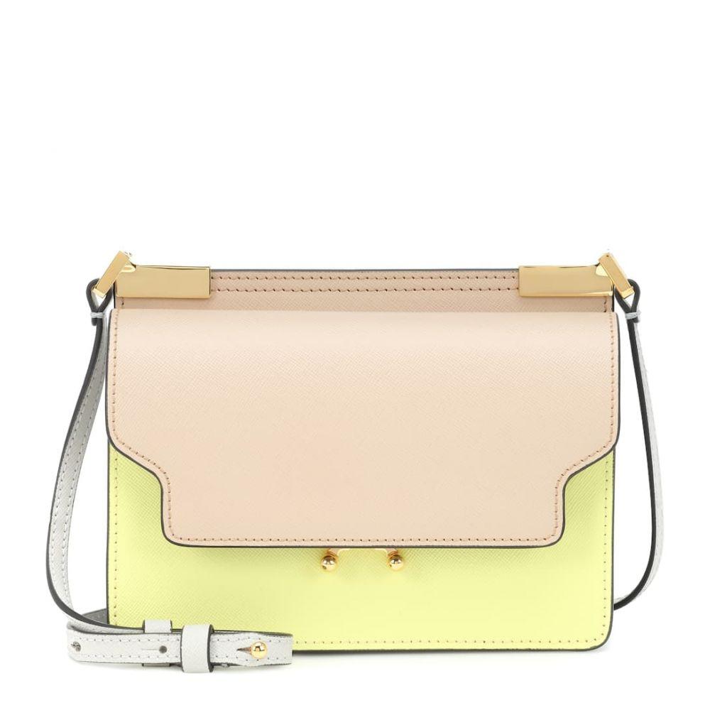 マルニ Marni レディース バッグ ショルダーバッグ【Micro Trunk leather shoulder bag】