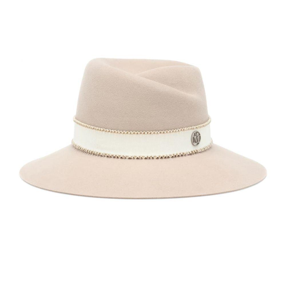 メゾンミッシェル Maison Michel レディース 帽子 ハット【Virginie felt fedora】