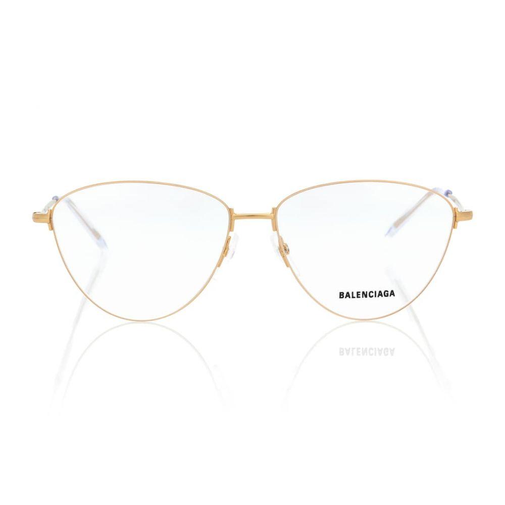 バレンシアガ Balenciaga レディース メガネ・サングラス【Cat-eye glasses】