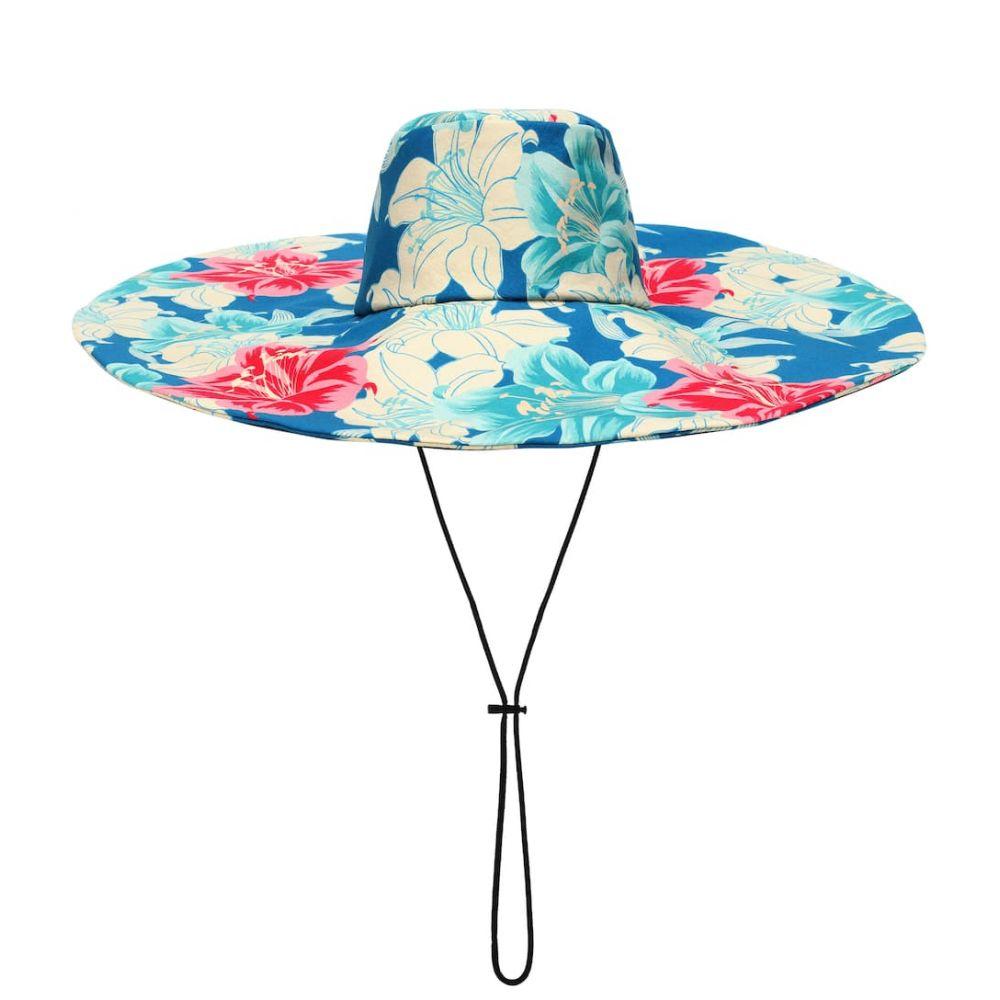 エトロ Etro レディース 帽子【Floral-printed cotton hat】