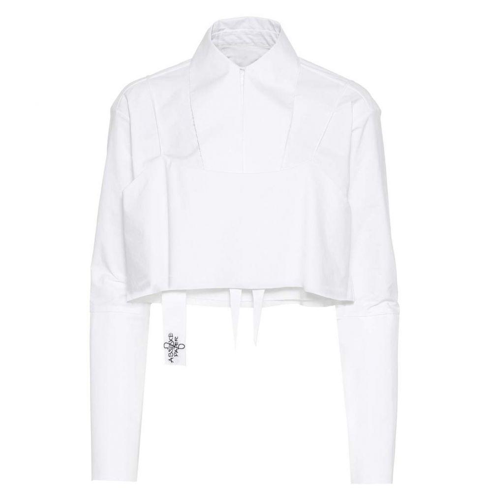 アブセンス オブ ペーパー Absence of Paper レディース トップス ブラウス・シャツ【Layer Cake cotton shirt】