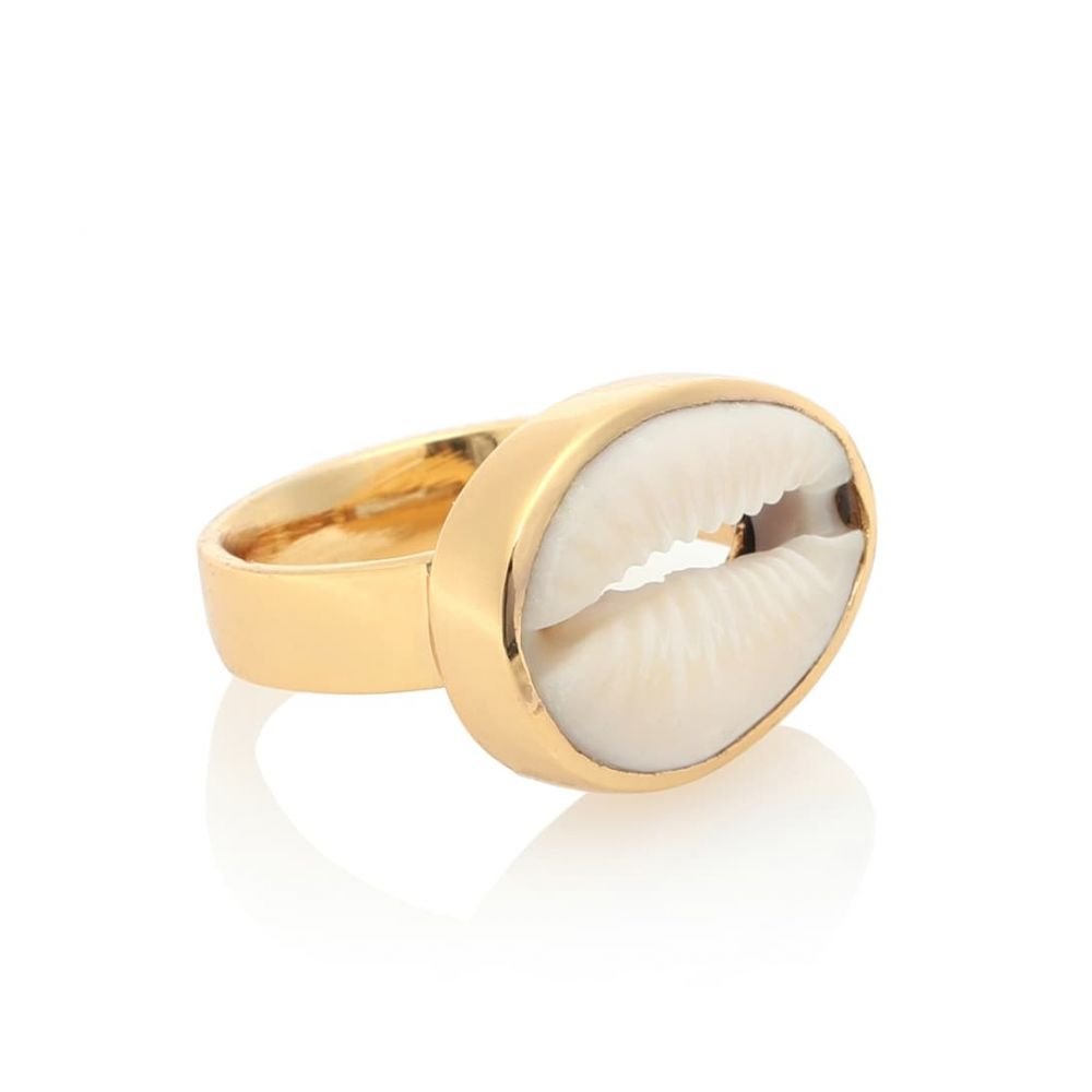 トフム TOHUM Design レディース ジュエリー・アクセサリー 指輪・リング【22kt gold plated cowry shell ring】