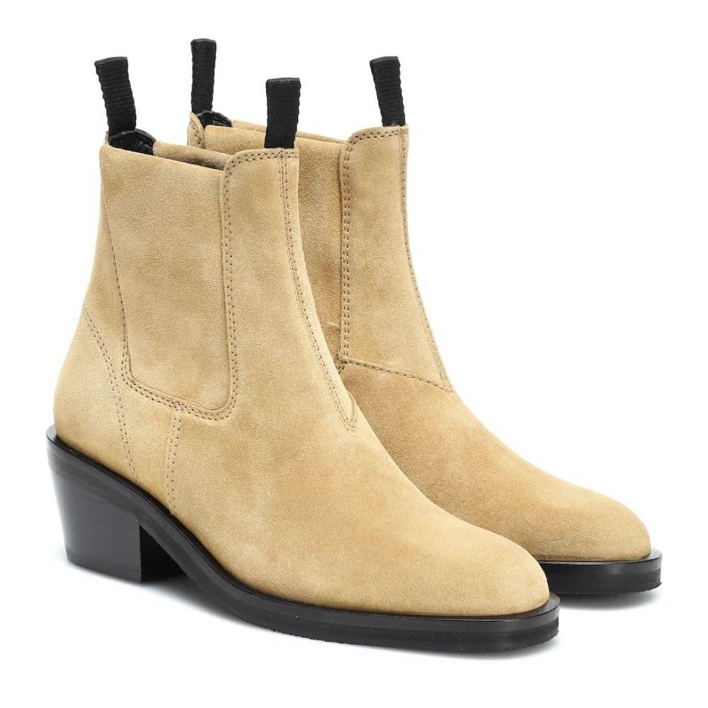 アクネ ストゥディオズ Acne Studios レディース シューズ・靴 ブーツ【Suede ankle boots】Sand Beige
