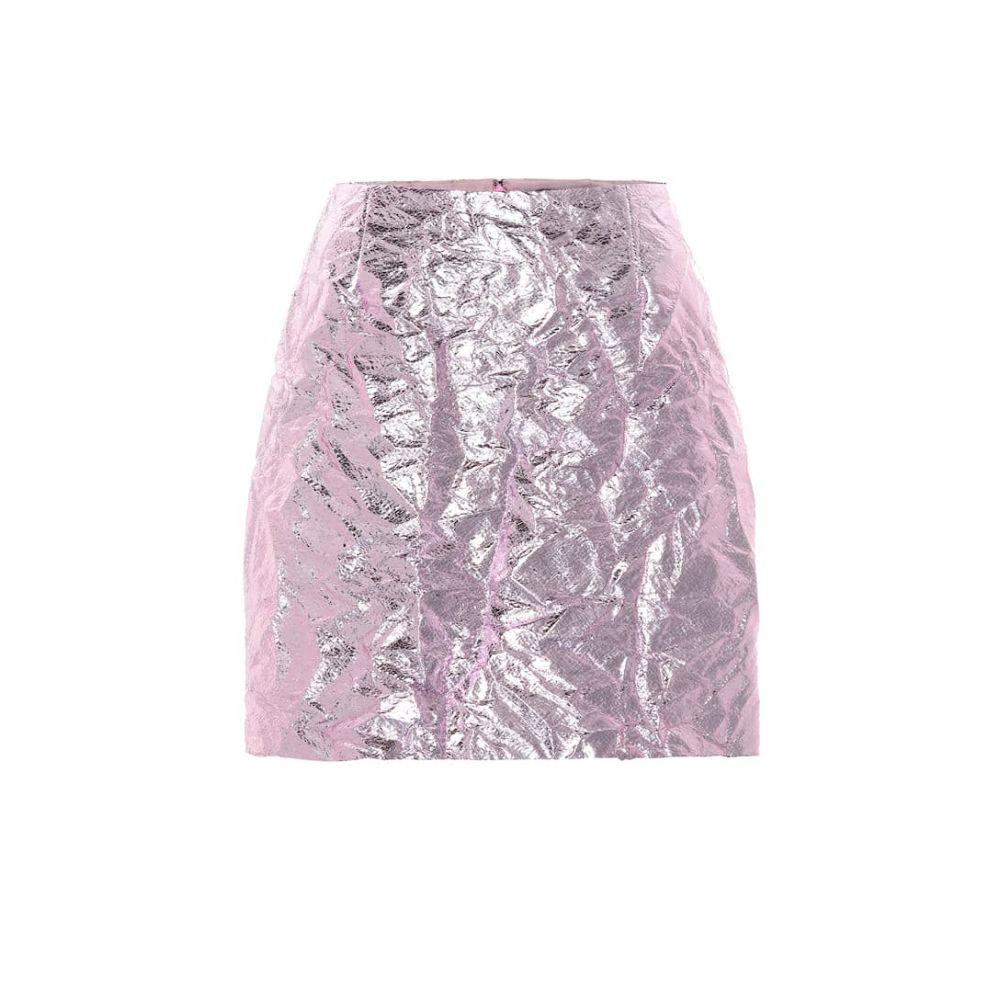 シエス マルジャン Sies Marjan レディース スカート ミニスカート【Desiree metallic miniskirt】Soft Pink