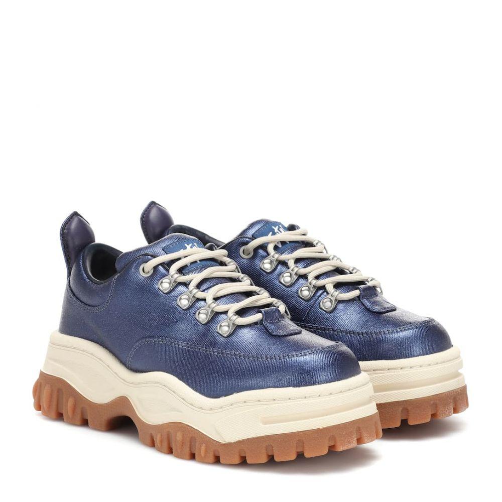 エイティーズ Eytys レディース シューズ・靴 スニーカー【Angel platform twill sneakers】sapphire