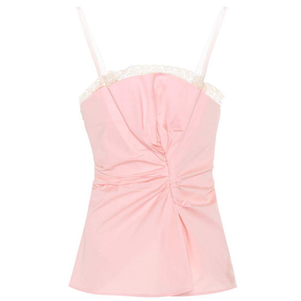 ジャックムス Jacquemus レディース インナー・下着 スリップ・キャミソール【Le Haut Rose cotton camisole】Pink
