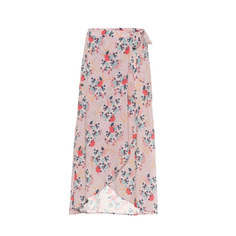 ベルベット グラハム&スペンサー Velvet レディース スカート ひざ丈スカート【Isadora floral printed skirt】pink floral