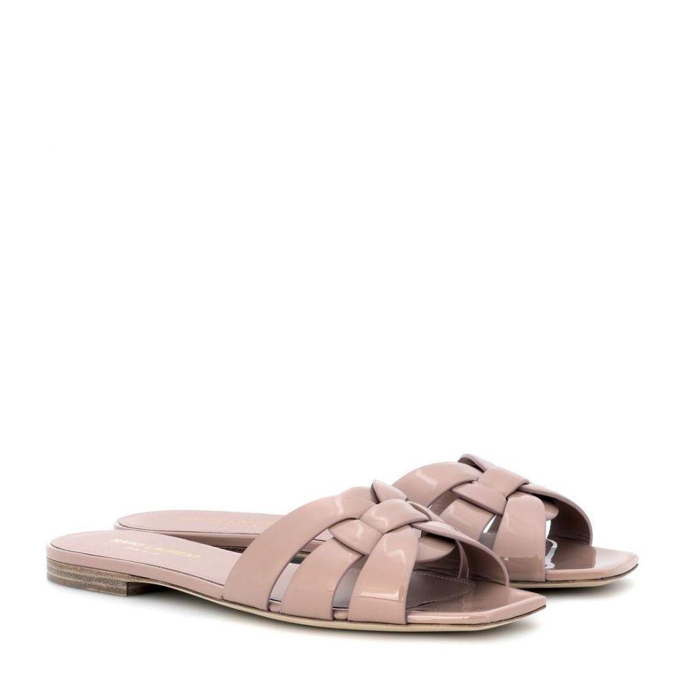 イヴ サンローラン Saint Laurent レディース シューズ・靴 サンダル・ミュール【Nu Pieds 05 sandals】Nude